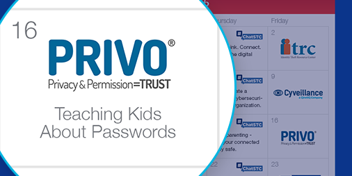 Teaching kids about passwords