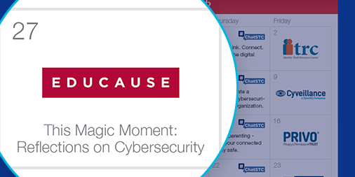 This magic moment: reflections on cybersecurity