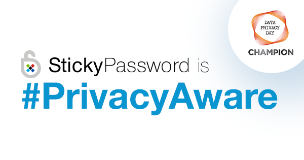 Sticky Password signs on as NCSA Data Privacy Day Champion