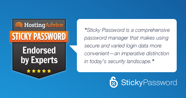 Going deep: Sticky Password in the hosting blog