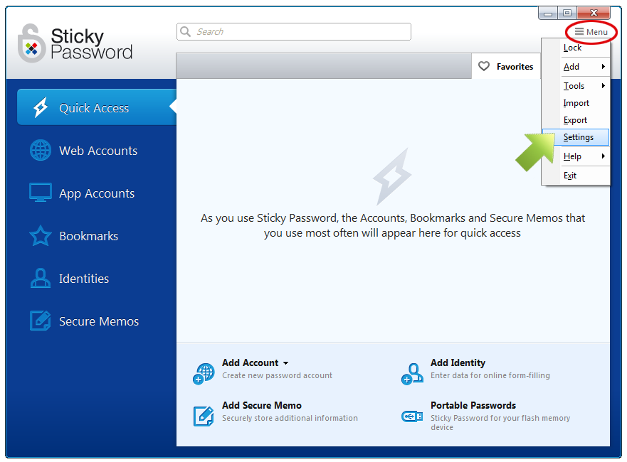 How to manage the Sticky Password autofill extension in browsers on ...