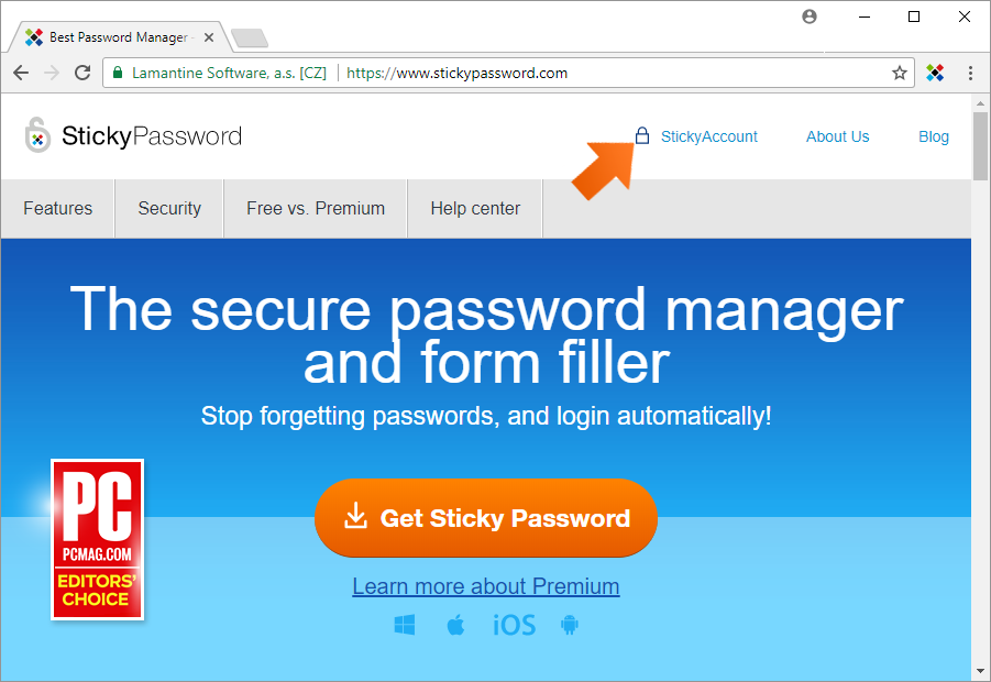 How To Change Your StickyID - Sign in to Sticky Account.