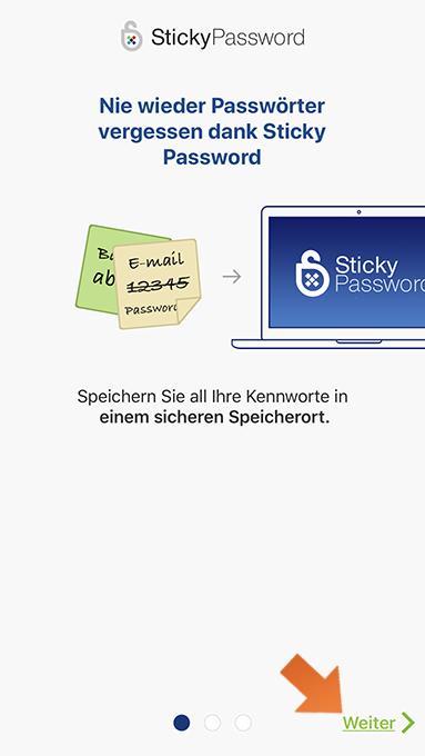 So Installieren Sie Sticky Password Auf Ihrem Iphone Und Ipad