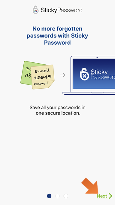 How to install Sticky Password on your iPhone and iPad - Lets get started