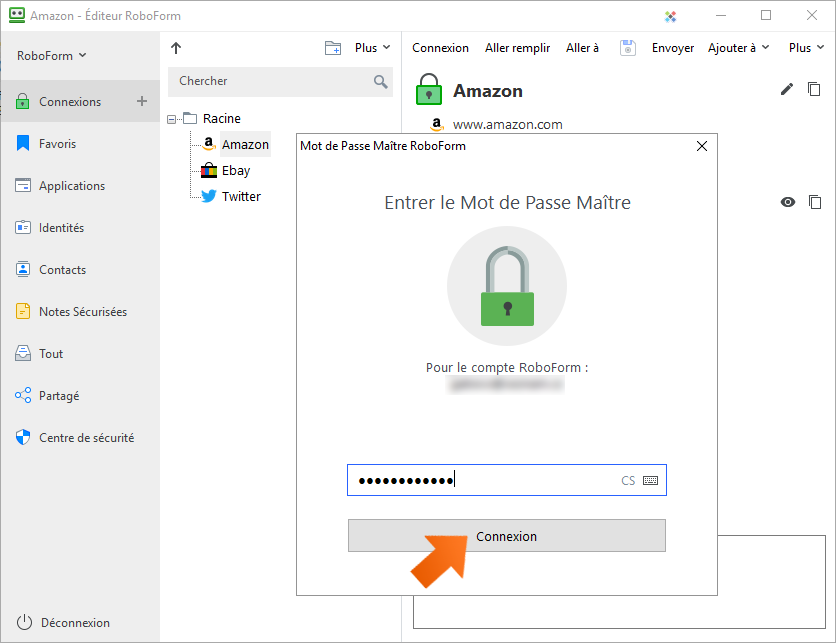 Comment importer vos mots de passe Roboform sous Windows