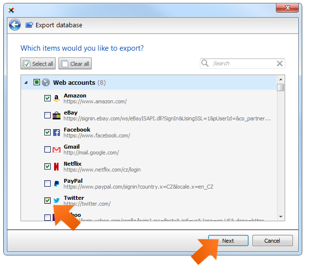 How to create a printout of your passwords on Windows?