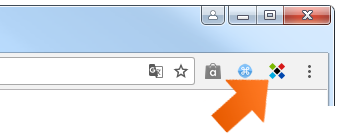 Sticky Password toolbar button