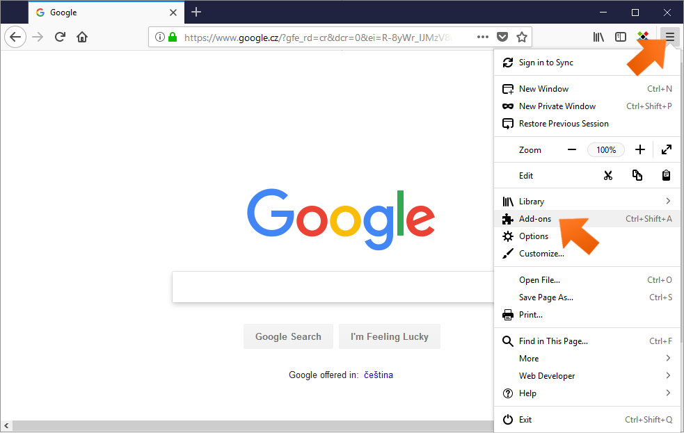 Installing the Sticky Password extension for Firefox on Windows - check Sticky Password extension directly in the Firefox browser.