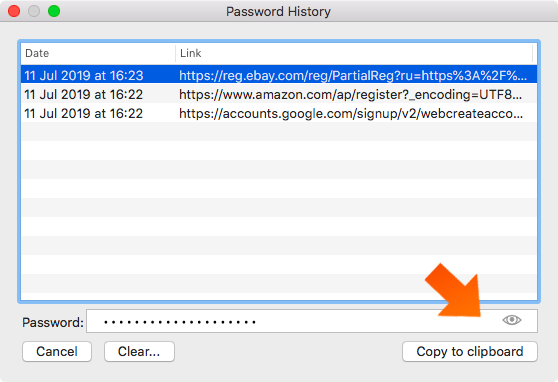 How to create strong passwords with a password generator on Mac - copy to clipboard