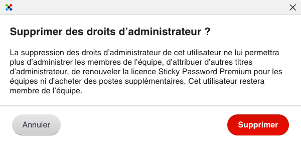 Sticky Password Premium équipes