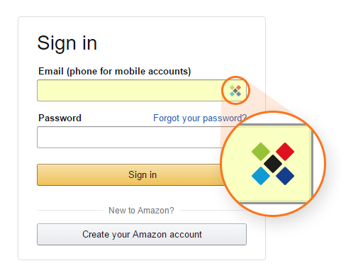 Sticky Password icons in your input fields